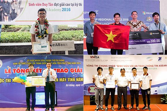 Ngành khoa học máy tính và kỹ thuật máy tính của Đại học Duy Tân nằm trong Top 301 - 400 thế giới