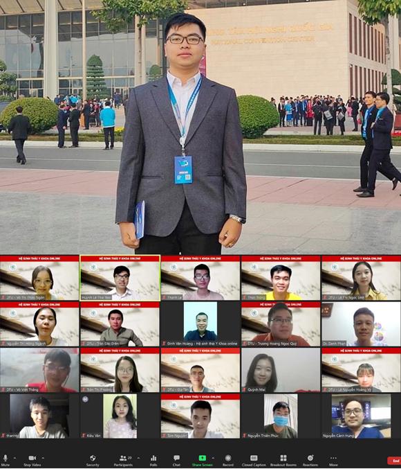 Đôi bạn giành giải nhì cấp tỉnh tuyển thẳng vào Đại học Duy Tân