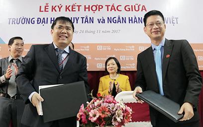 Đại học Duy Tân Ký kết Hợp tác với Ngân hàng Bản Việt