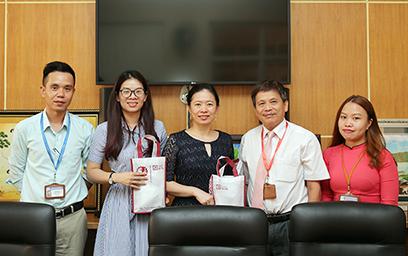 Đại học Duy Tân Làm việc với Phòng Giáo dục, Văn phòng Kinh tế và Văn Hóa Đài Bắc