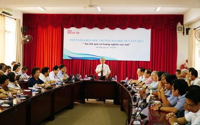 Hội nghị Khoa học trường Đại học Duy Tân năm 2017