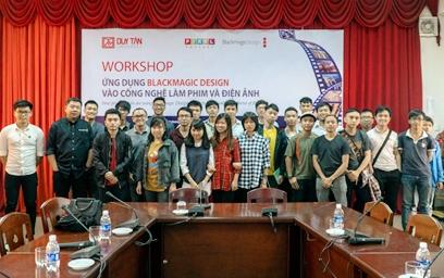 Workshop Ứng dụng Blackmagic Design vào Công nghệ Làm phim và Điện ảnh