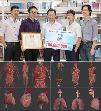 Nhân tài Đất Việt 2017 vinh danh ĐH Duy Tân với Ứng dụng 3D trong Y học