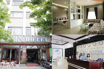 Khách sạn mini đặt tại 59 Hà Bổng và khách sạn Epin đặt tại 733 Nguyễn Tất Thành của ĐH Duy Tân