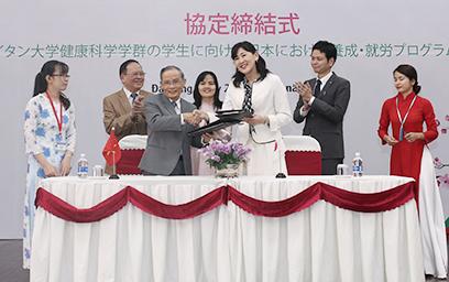 Lễ Ký kết Hợp tác giữa ĐH Duy Tân và Tập đoàn Phúc lợi Xã hội Seirei