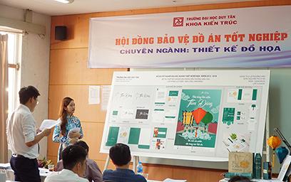 Đại học Duy Tân: Sinh viên ngành Thiết kế Đồ họa Khóa đầu Tốt nghiệp