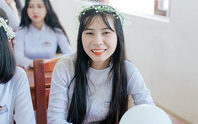 Trần Thị Cẩm Thanh đạt 26,25/30 điểm trúng tuyển vào ĐH Duy Tân