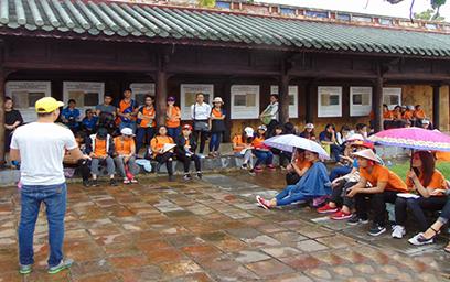 Một chuyến đi thực tế của sinh viên Khoa Du lịch, Trường Đại học Duy Tân