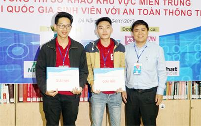 Sinh viên DTU Vô địch Cuộc thi An toàn thông tin miền Trung