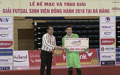 Đại học Duy Tân Vô địch giải Futsal Sinh viên Đồng hành Tp. Đà Nẵng 2018