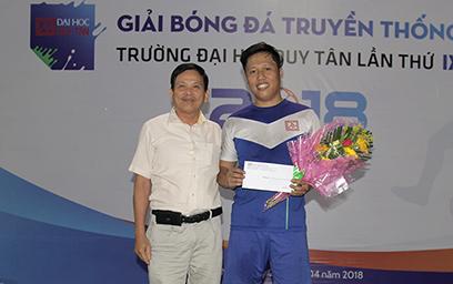 Bế mạc Giải Bóng đá Mini Nam Truyền thống Đại học Duy Tân lần thứ IX