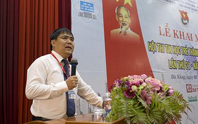 Khai mạc Hội thi Tin học trẻ Tp. Đà Nẵng tại Đại học Duy Tân