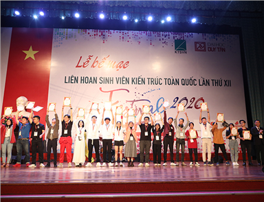 The Closing Festival of the 12th National Festival for Architecture Students