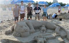 """Khởi động Mùa hè với Cuộc thi """"Xây tượng cát trên bãi biển Đà Nẵng 2016"""""""
