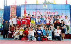 DTU đạt Thành tích cao tại Hội thao Công nhân Viên chức năm 2017