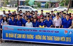 Sinh viên Duy Tân Ra quân làm sạch Môi trường Biển