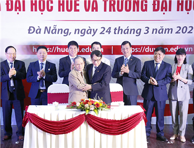 DTU Signs Important Agreement with Hue University
