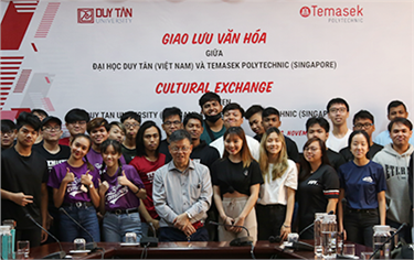 An Exchange with Temasek Polytechnic in Singapore
