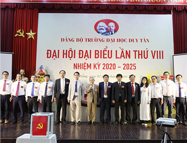 DTU holds the 2020-2025 8th Party congress