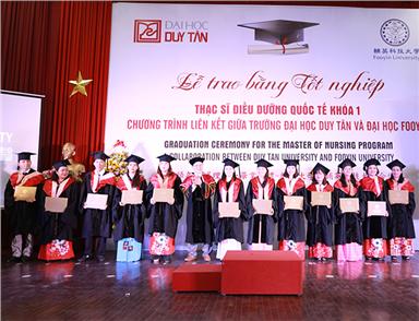Graduation Ceremony of the International Master of Nursing Partnership Program with Fooyin University