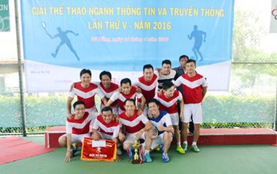 Duy Tân Vô địch Giải thể thao Ngành Thông tin & Truyền thông Tp. Đà Nẵng