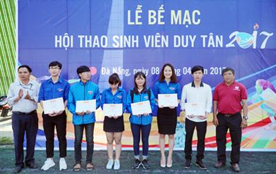 Bế mạc Hội thao Sinh viên Đại học Duy Tân lần thứ I