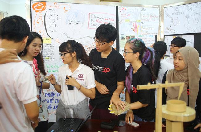 Chương trình trao đổi Learning Express tại Đại học Duy Tân
