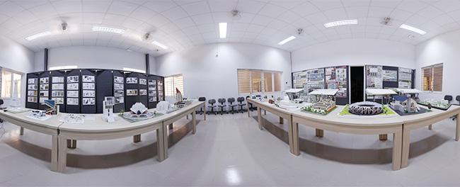 Phòng trưng bày Khoa Kiến Trúc Đại Học Duy Tân