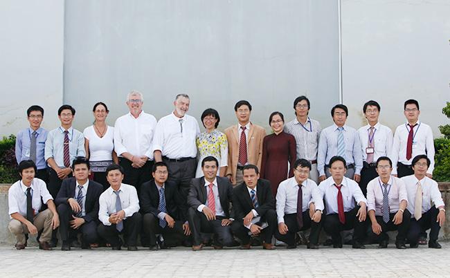 Các cán bộ, giảng viên tham gia giảng dạy tại trường