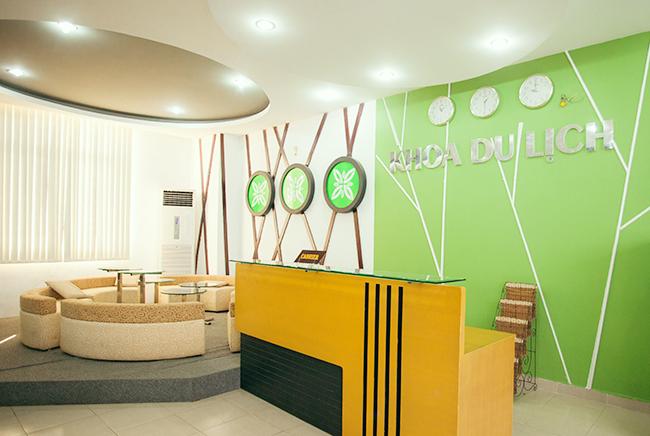Văn phòng Khoa Du lịch Đại học Duy Tân