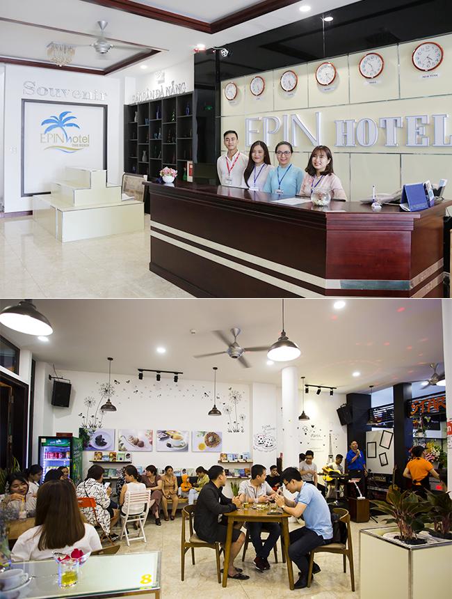 Khách sạn Epin mang đến cho sinh viên các cơ hội thực tập nghiệp vụ cùng không gian khởi nghiệp sôi động