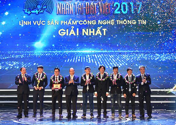Đại học Duy Tân Đạt Giải Nhất Cuộc Thi Nhân tài Đát Việt 2017
